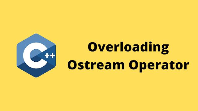 HackerRank Overloading Ostream Operator solution in c++ programming