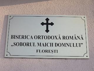 """Biserica """"Soborul Maicii Domnului"""" Floresti-Cluj"""