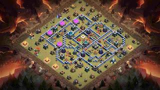 Base War COC TH 13 Anti Yeti