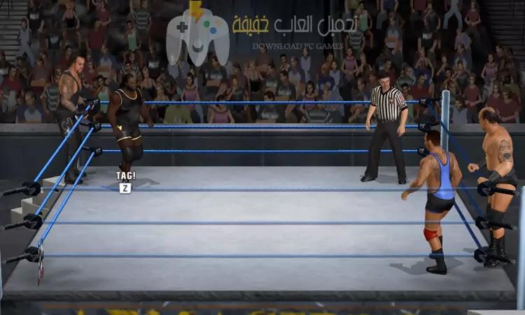 تحميل لعبة WWE Smackdown Raw 2010 برابط مباشر وحجم صغير