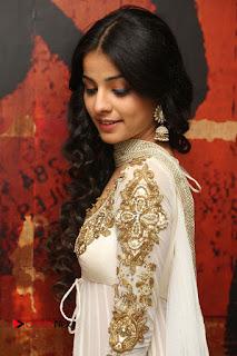 Telugu Actress Mahima Makwana Stills in White Desginer Dress at Venkatapuram Movie Logo Launch  0073.JPG