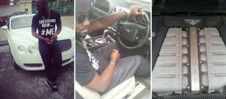 2+shorts - RAPPER 2SHORTS ACQUIRES BRAND NEW BENTLEY FOR HIMSELF