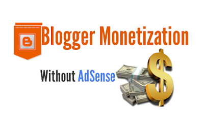 Monetize Blogger Without AdSense