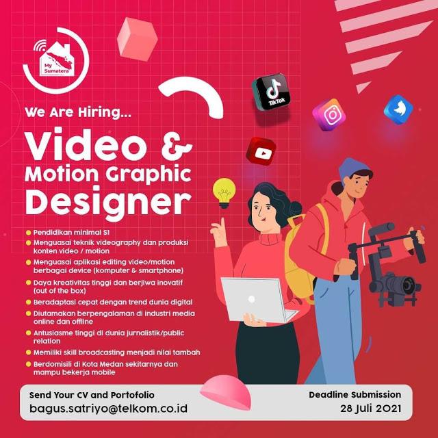 Lowongan Kerja Medan Gelar S1 Juli 2021 PT Telkom Indonesia