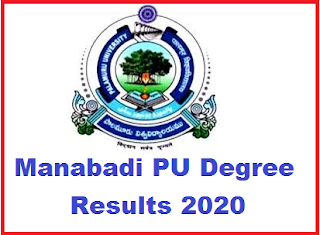 Manabadi PU Degree Results 2020