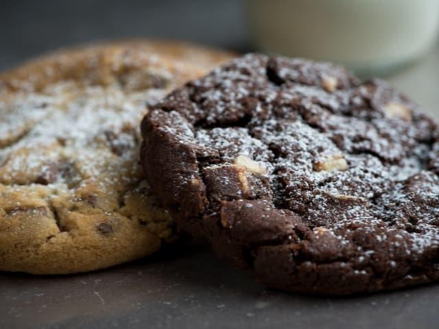 receita de biscoitos de aveia com chocolate