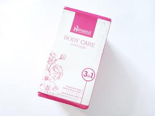 Hanasui Body Care Package 3 In 1 Original BPOM