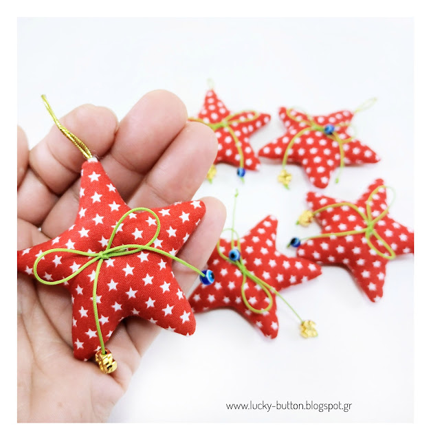 """Christmas lucky stars"""