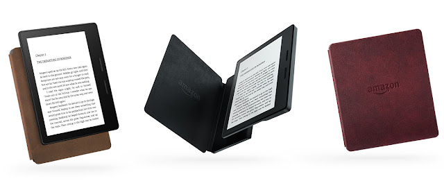 Amazon new e- reader Kindle Oasis isavailable on the market