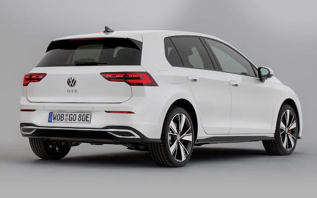 VW Golf Mk8 híbrido pode ser lançado no Brasil em 2021