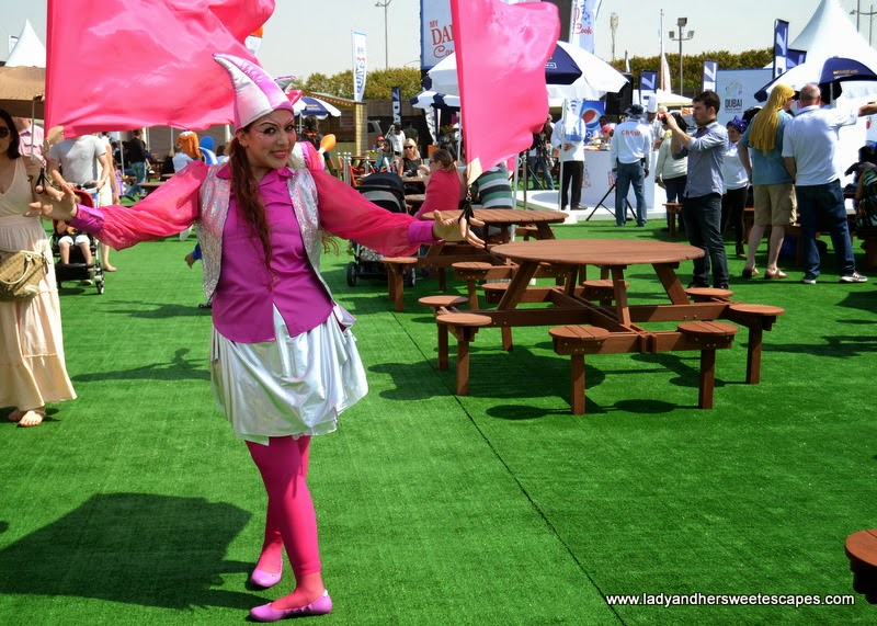 a world-class performer at the Dubai Food Carnival