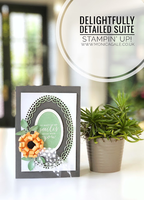 Stampin Up Delightfully Detailed #stampinup #delightfullydetailed