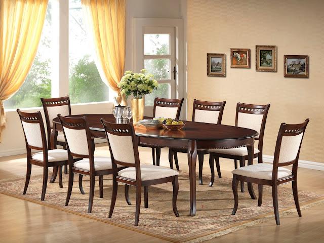 mẫu bàn ghế ăn đẹp skyhome