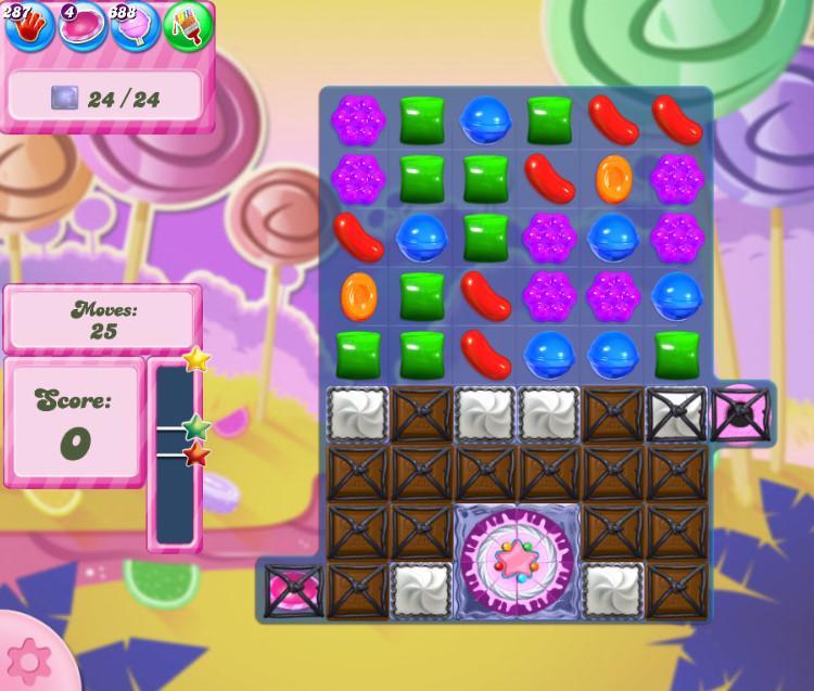 Candy Crush Saga level 2761