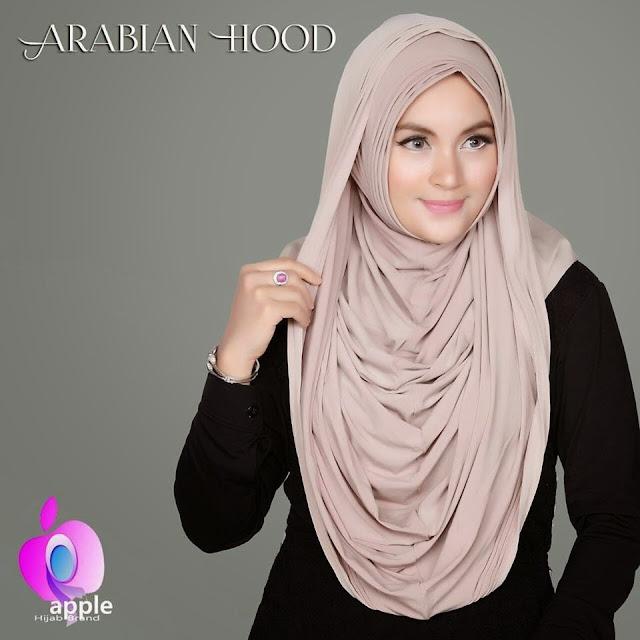 Jilbab instant Hoodie