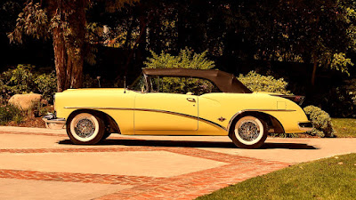 1954 Buick Skylark Convertible Side Left