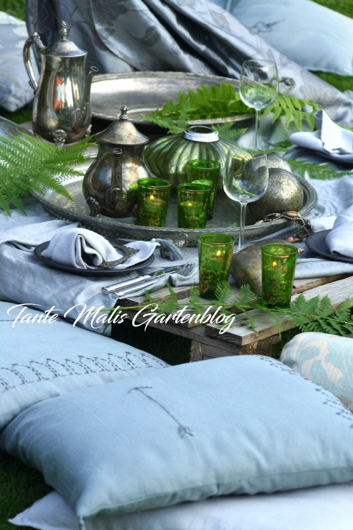 Bohemian table decoration