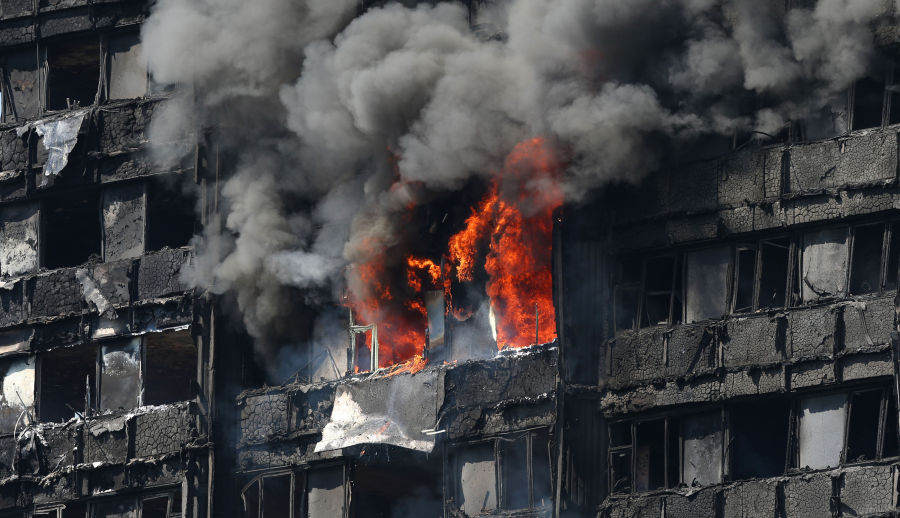 "London Inferno – ""Posing Fire Risks & Killing A Few Is Okay"""