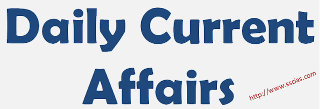 Daily Current Affairs 08 June  2018