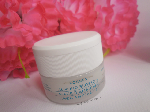 Korres Moisturising Cream Almond Blossom [Review & Giveaway]