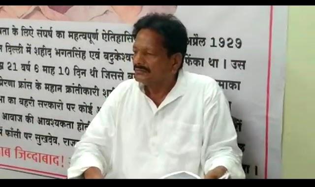 पूर्व विधायक समरिते के समर्थन मे आये पूर्व सांसद मुंजारे | Purv vidhayak samrite ke samarthan main aye purv sansad munjare