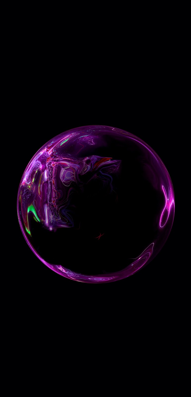 Purplish Bubble