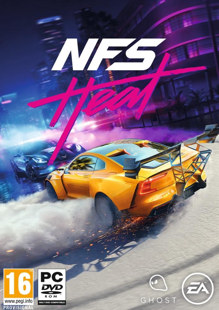 Descargar Need For Speed Heat PC Cover Caratula