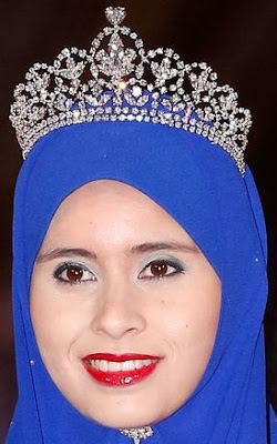 diamond floral tiara crown princess sarah brunei