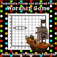 http://www.teacherspayteachers.com/Product/Free-coordinate-points-and-ordered-pairs-game-Warship-103632