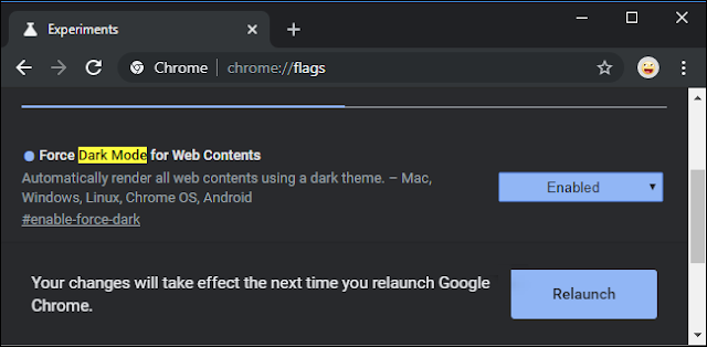 Force Dark Mode for Web Content