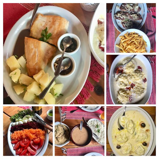 Culinária do Hotel Bühler é maravilhosa, tem que esquecer a dieta!