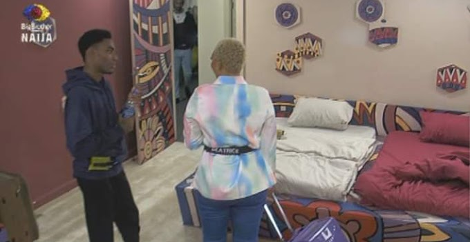 #BBNaija: I love your natural brown teeth - Beatrice tells Yerins (video)