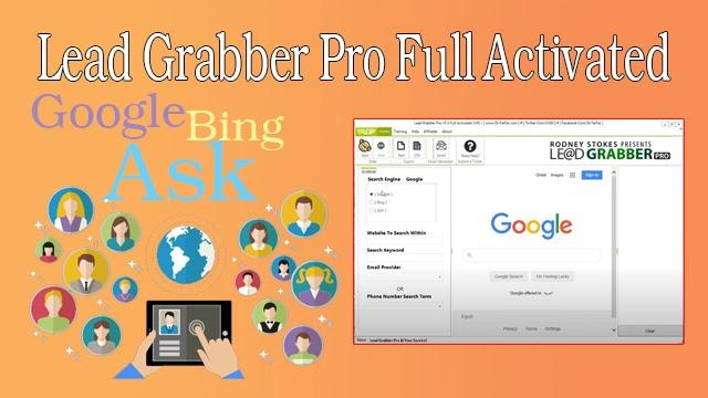 برنامج Lead Grabber Pro - استخراج الاف الاميلات من محركات البحث