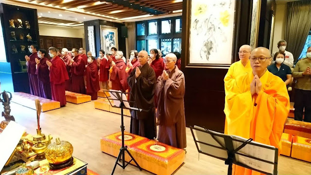 109年10月1日 中秋節在三重還願精舍舉行正宗的剃度法會