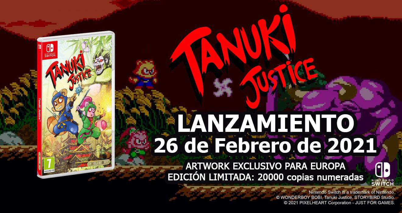 Tanuki Justice | Nintendo Switch