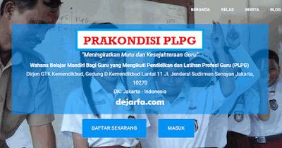 Cara Aktivasi Prakondisi PLPG 2017