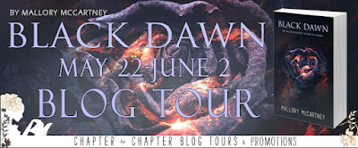 Blog Tour for Black Dawn by Mallory McCartney with GIVEAWAY!!
