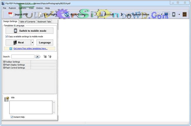FlipBuilder Flip PDF Professional Full Crack