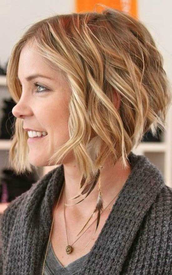 Wavy Choppy Hairstyles : Awesome wavy bob hairstyles aboutwomanbeauty