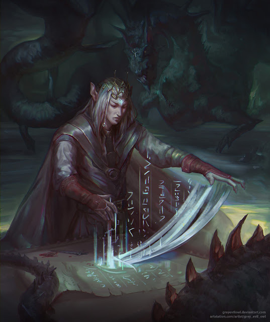 Los Elfos, Tejedores de Magia Ancestral y Sombras de los Bosques - La Magia