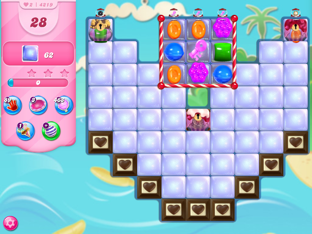 Candy Crush Saga level 4219