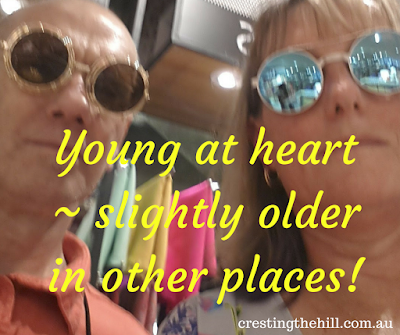 young at heart - slightly older in other places