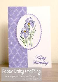 Inspiring Iris Stampin Up