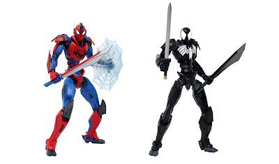 Spider-Man Marvel Mecha Premium Collectible Figure by Mondo