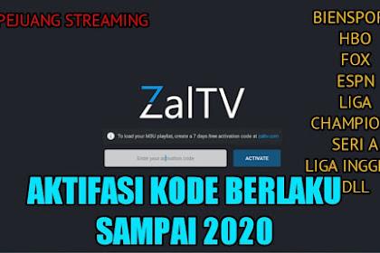 Activasi Code ZalTv Unlimited 2020 + Gratis Key Activasi Terbaru