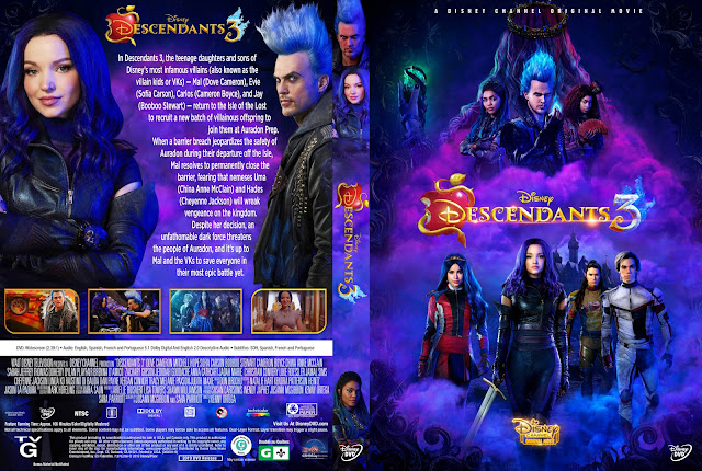 Descendentes 3 DVD Cover