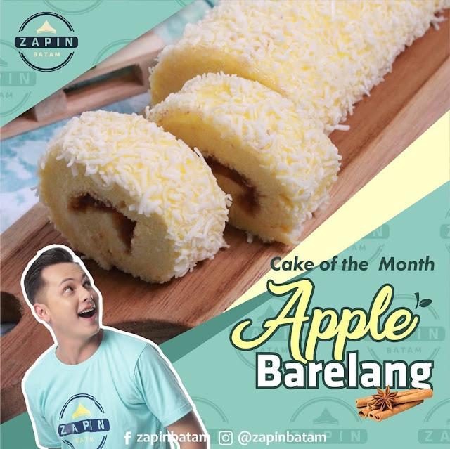 Cake Apple Barelang Zapin Oleh Oleh Batam Enak Kaliwak