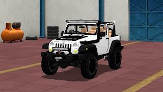 Mobil Jeep, Model Kendaraan Bus Simulator Indonesia!