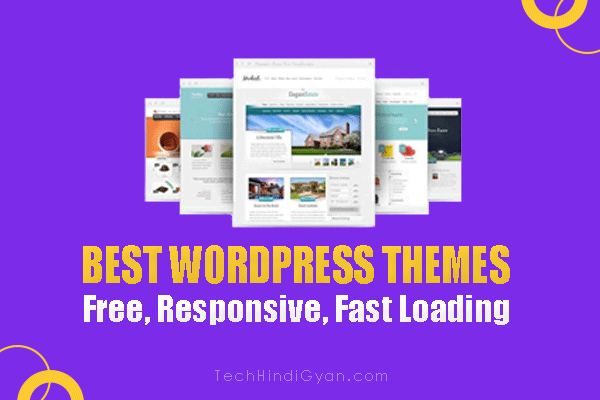 25+ Best Free Premium WordPress Themes 2020 (Hindi)