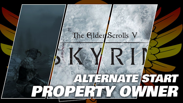 SKYRIM Gameplay 2020! Alternate Start! Property Owner!